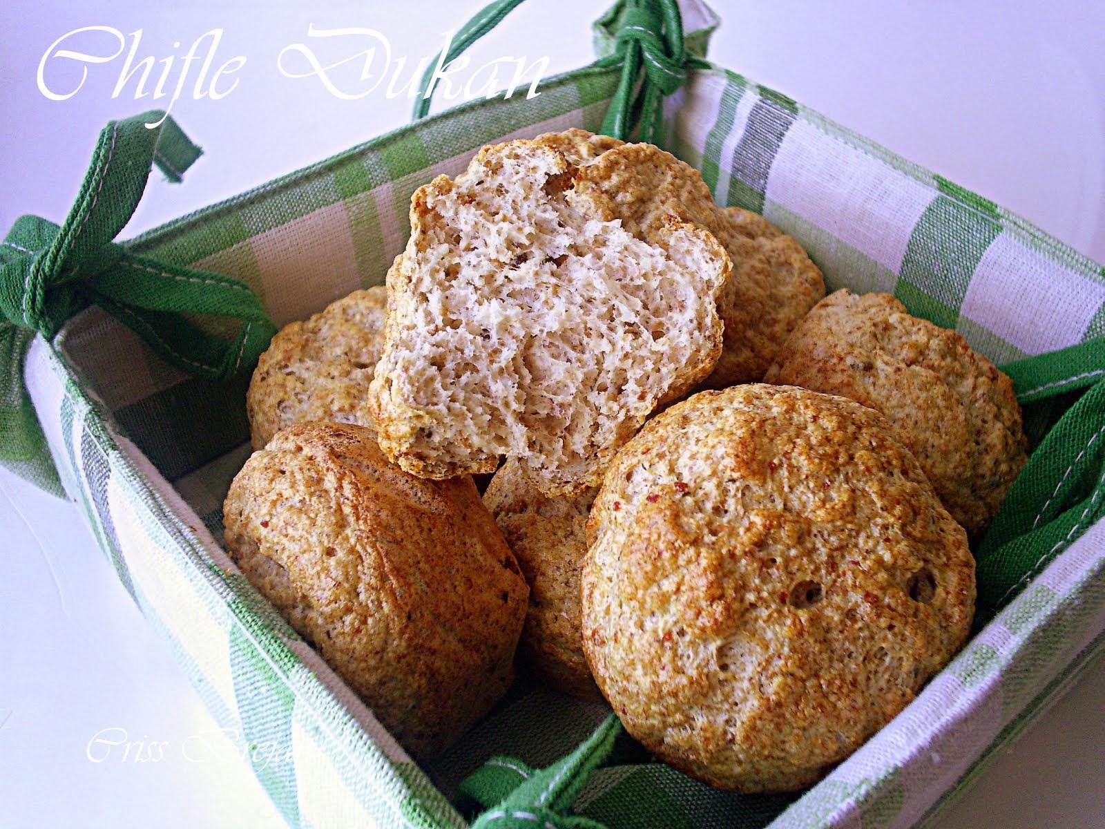 Chifle/turte/muffins Dukan