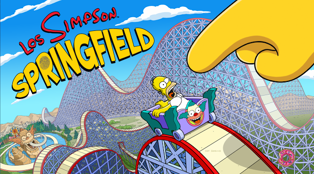 Simpsons Tapped Out Map