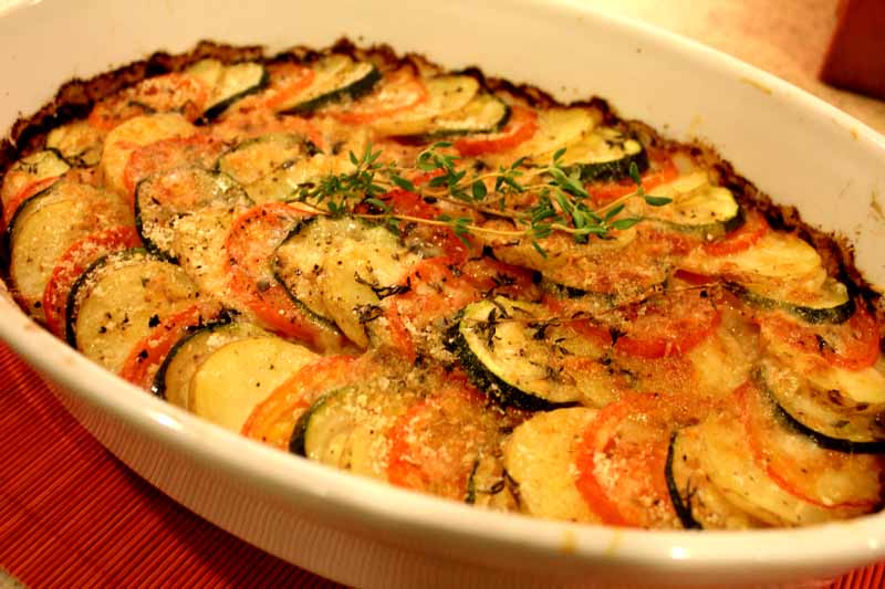 Vegetable Tian - Lake Lure Cottage KitchenLake Lure ...
