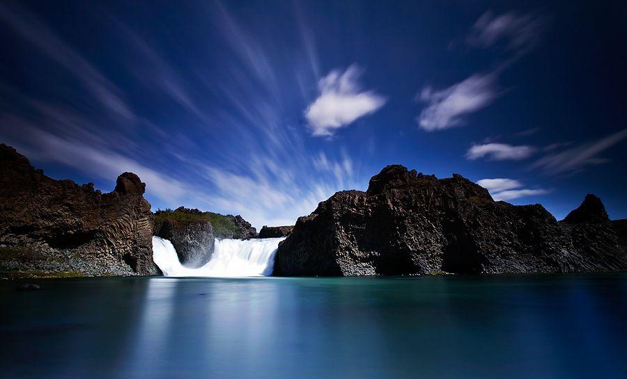 25. Waterfall by Jón Óskar