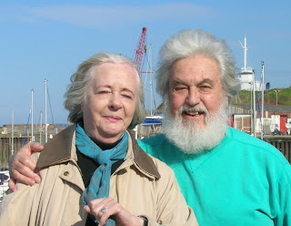 Author and Alzheimer's sufferer William & wife Sheila on holiday 2006