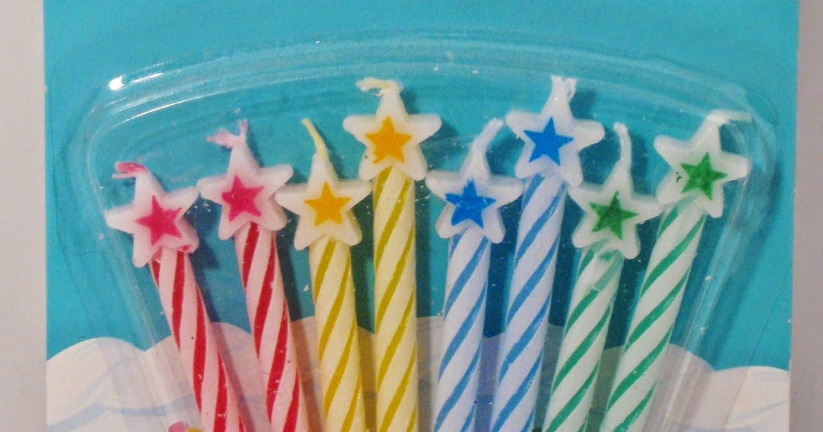 Everything Happy Birthday On A Budget Candles