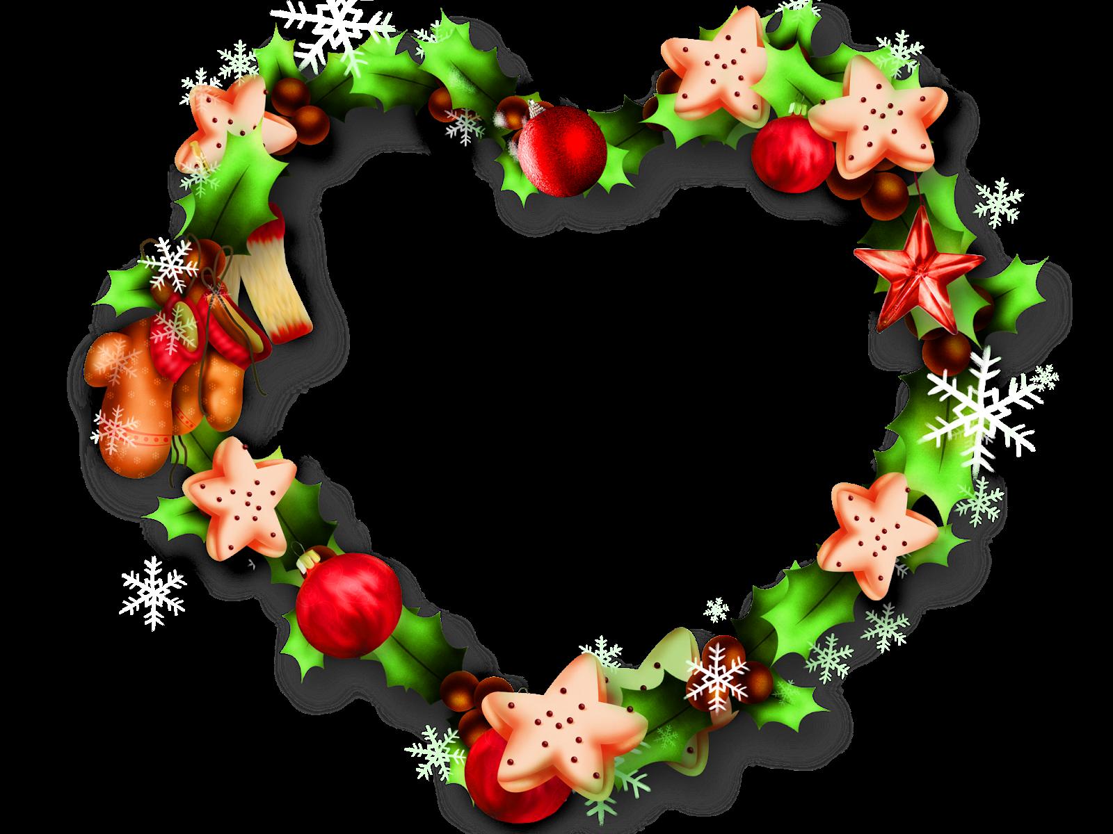 Adornos de coraz³n para navidad