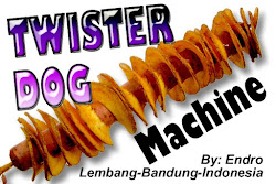 CARA BIKIN TWISTER DOG