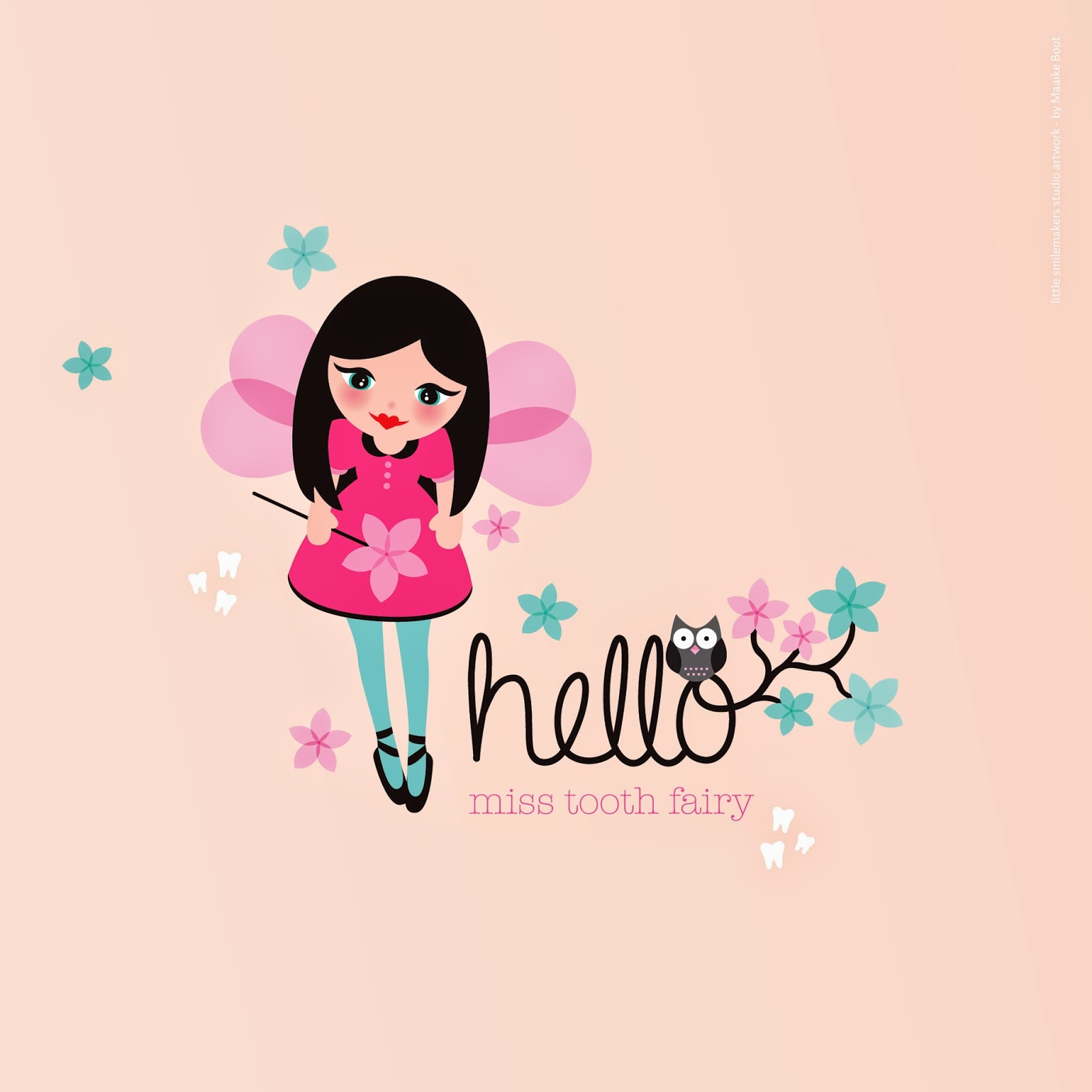 little smilemakers studio hello miss tooth fairy free printable