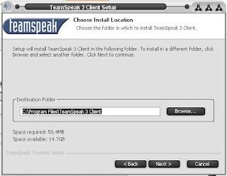Cara Install TeamSpeak