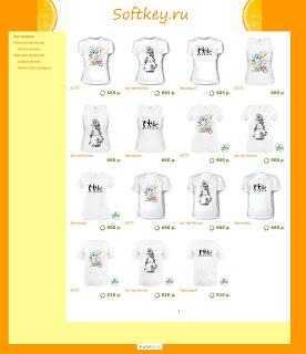 Уникальные футболки от Softkey