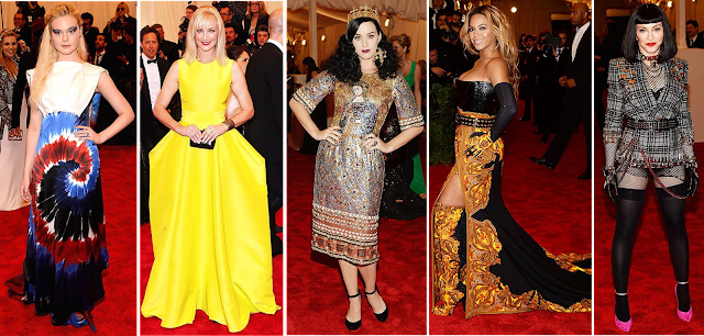 The Met Ball, fashion, what not to wear