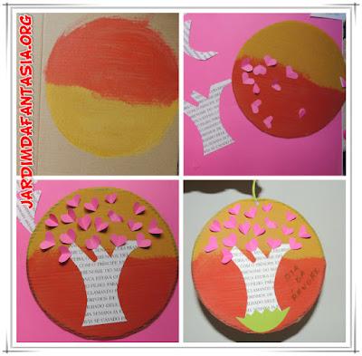 Dia das Árvore Atividade Artes Manuais