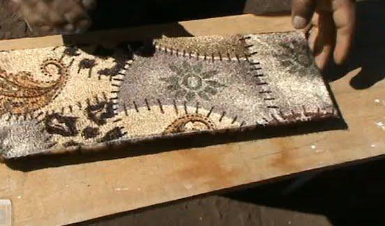 Decoraciones manualidades en madera empezando a tapizar - Grapadoras para tapizar ...