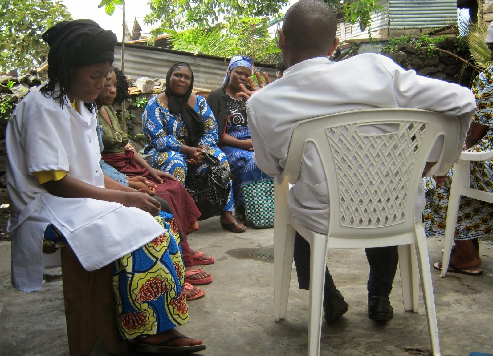 Globathon event in Goma-Hope Medical Center