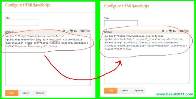Cara Menjadikan Iklan Blog Valid HTML5