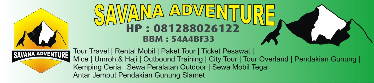 Savana Adventure | Rental Mobil | Sewa Alat Ourdoor | City Tour