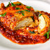 Chicken Parmesan with Spicy Enchilada Sauce