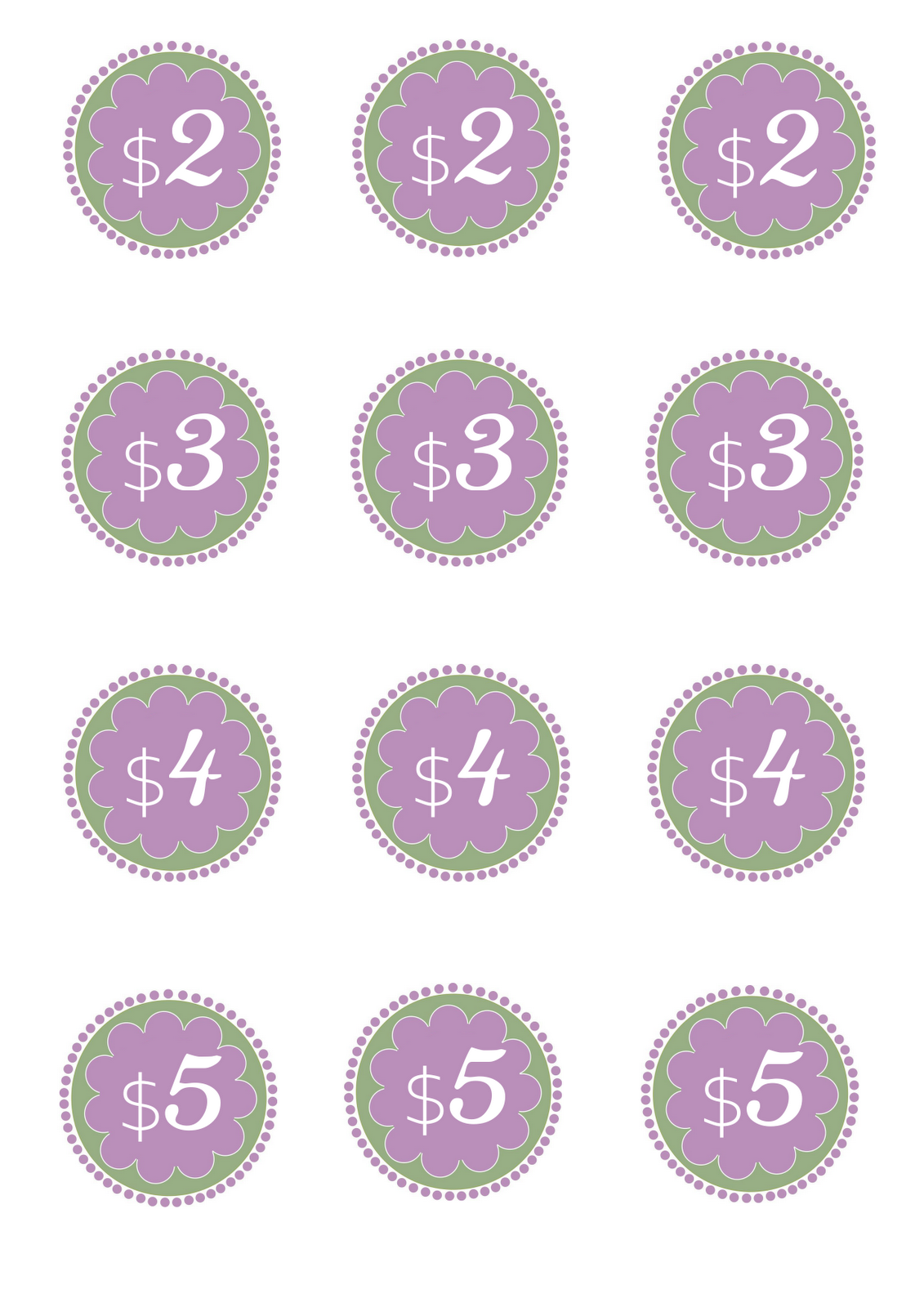 It's just a photo of Persnickety Free Printable Price Tags