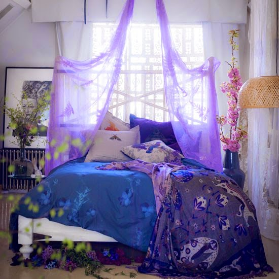 Fairytale Bedroom: Creative Influences: A Color Story, Part 2: Is It Lilac Or