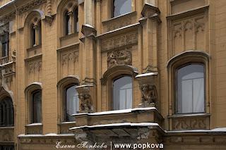 Особняк Кельха. Фасад