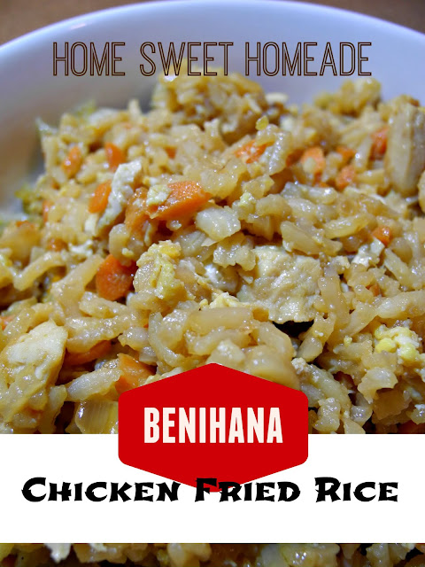 Benihana Chicken Fried Rice