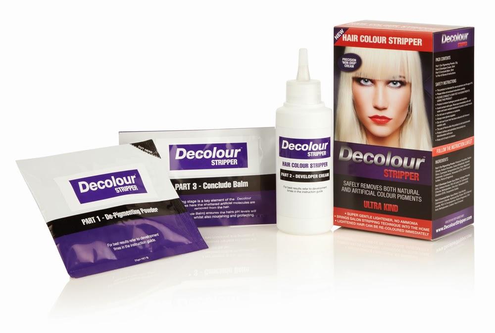 Removing Hair Color Build Up Using Decolour Hair Colour Stripper