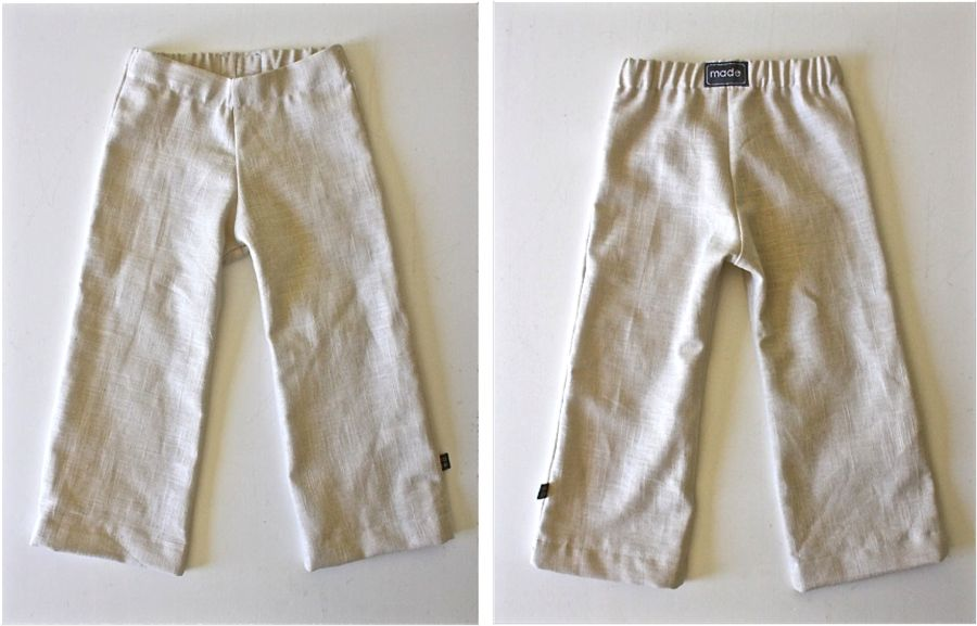 Kid Pants With Flat Front Made Everyday