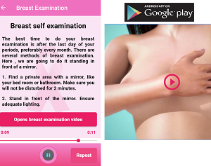 Most Useful App of the Month - VESNA BREAST CANCER SCREEN