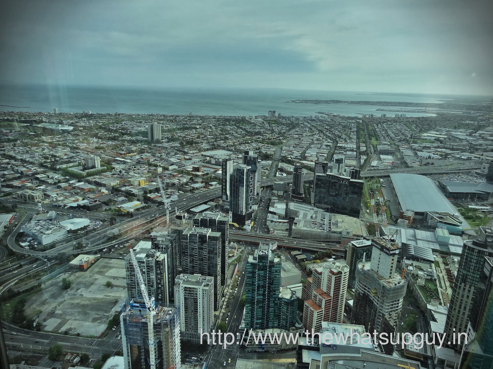 Eureka Towers View From Top
