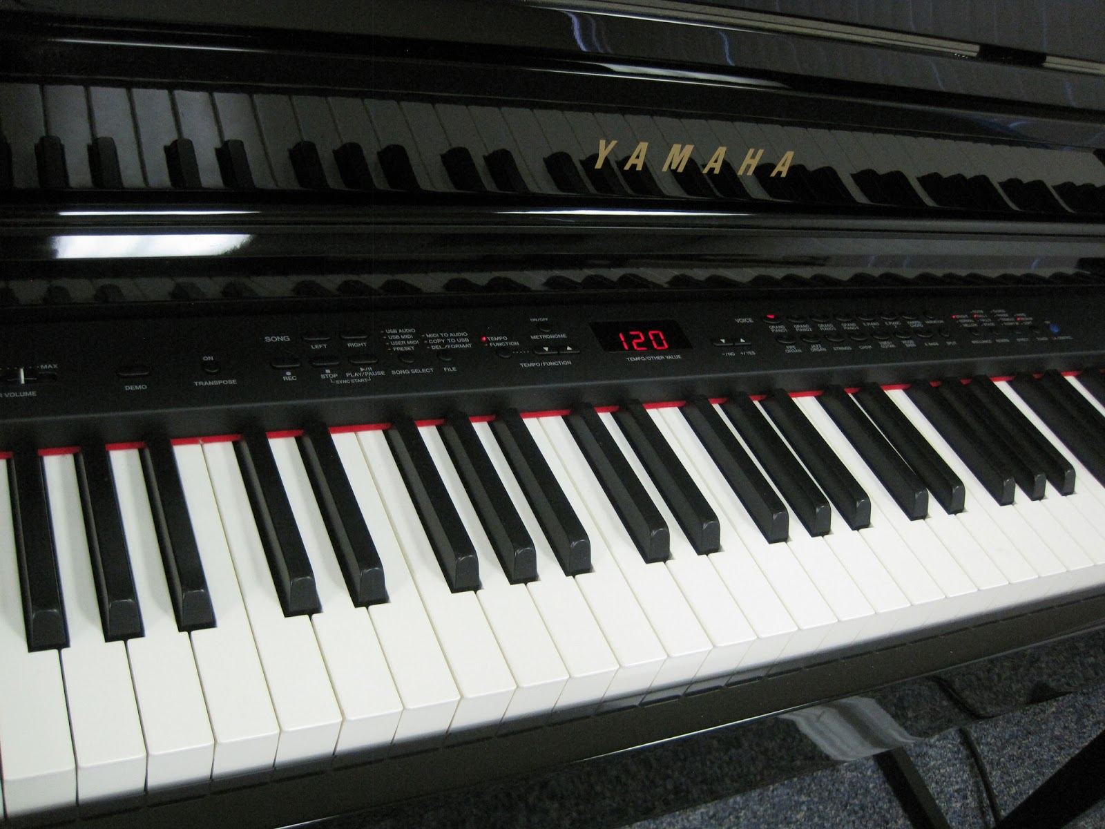 Yamaha clavinova electric piano prices car interior design for Yamaha piano cost