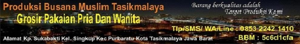 Grosir Busana Muslim Jas koko Tasikmalaya