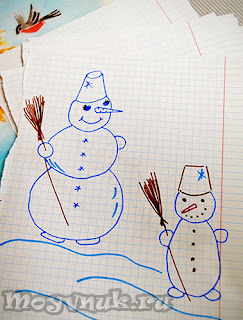 Снеговик, фото