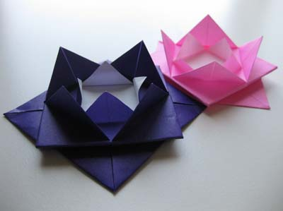 Easy origami lotus flower sensual daily images easy origami lotus flower mightylinksfo