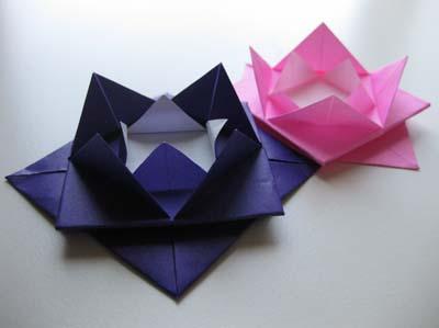 Easy Origami Lotus Flower