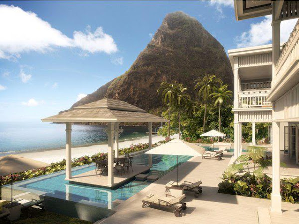 Jalousie - Sugar Beach Villas Construction - St.Lucia