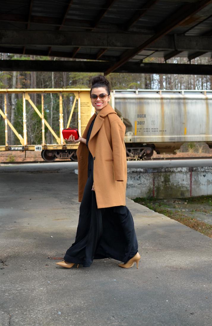 Zara coat outfit