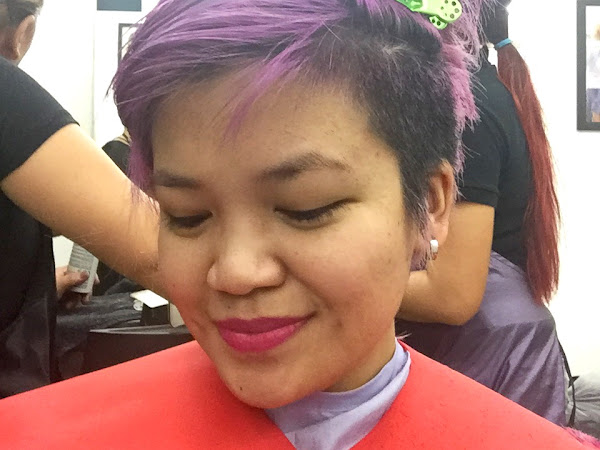 Purple belle c/o JuRo Salon Exclusif
