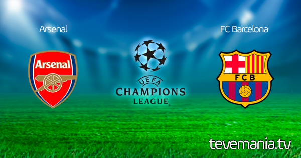 Arsenal vs FC Barcelona en Vivo  - Champions League