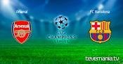 Arsenal vs FC Barcelona en Vivo  - Champions League