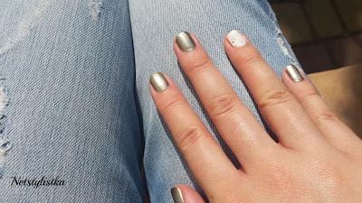 YSL Bronze Pyrite Blanc Symboliste Givenche Parure Scintillante