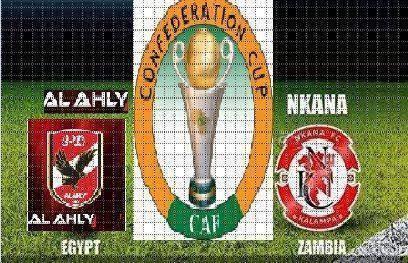 اهداف مباراة الاهلي ونكانا الزامبى فى كأس الاتحاد الافريقى 9-8-2014