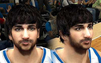 NBA 2K13 Nikola Pekovic Cyberface Patch