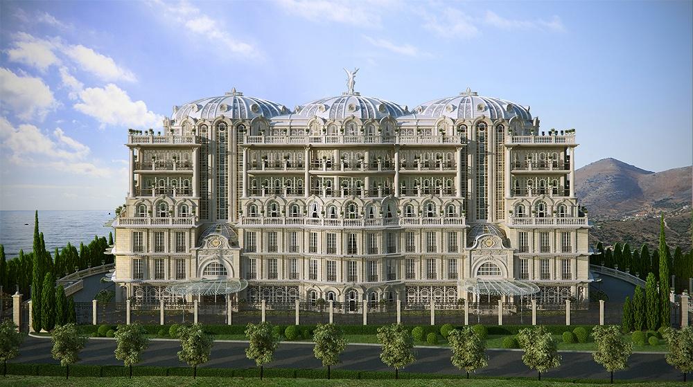 Most amazing facts stunning palace made using cg Palace design