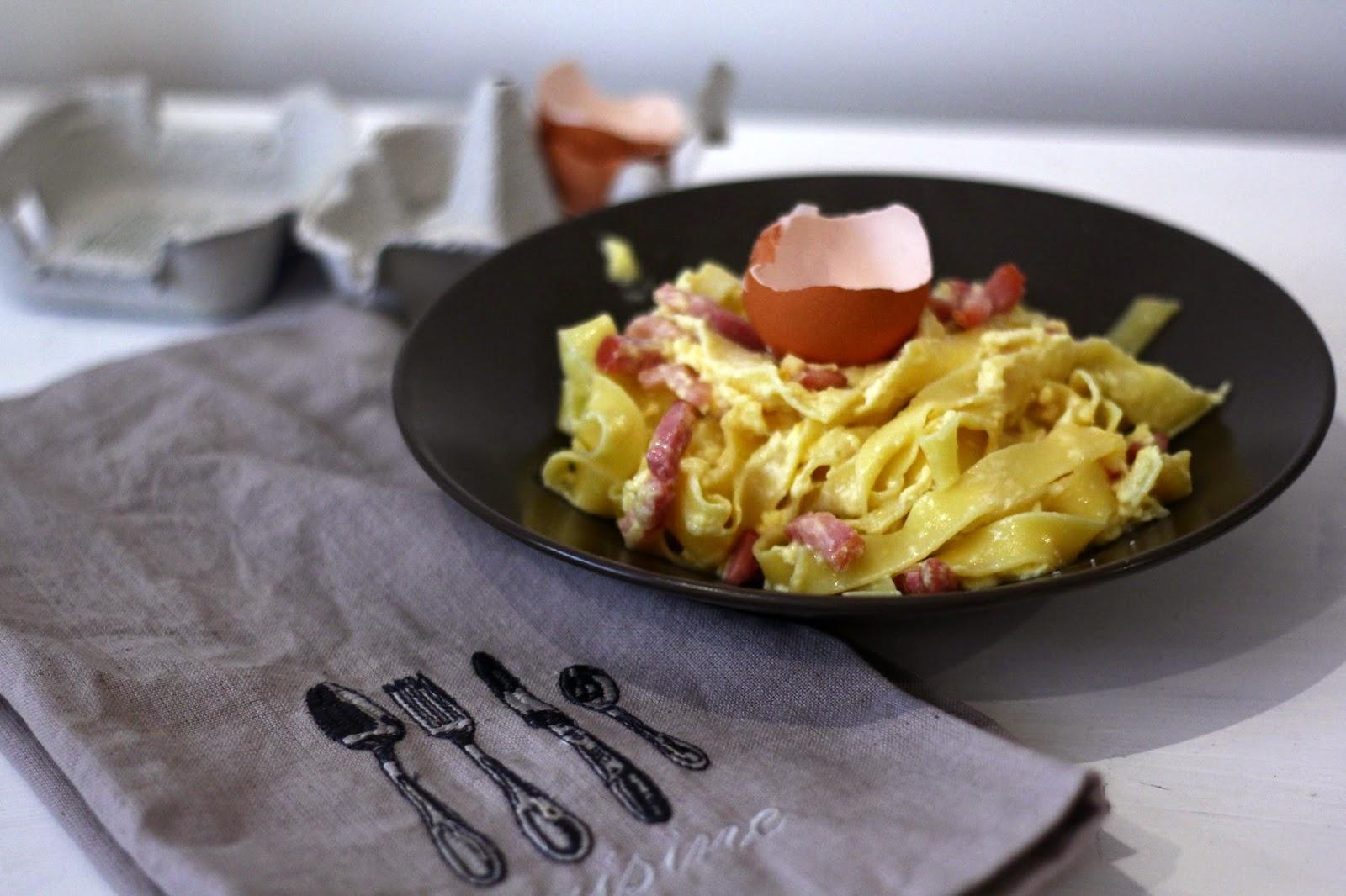 twinscook la cuisine fa 231 on 233 tudiant la v 233 ritable recette des p 226 tes 224 la carbonara