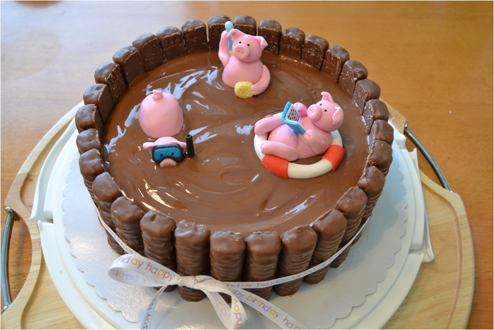 Pig Cake Recipe — Dishmaps