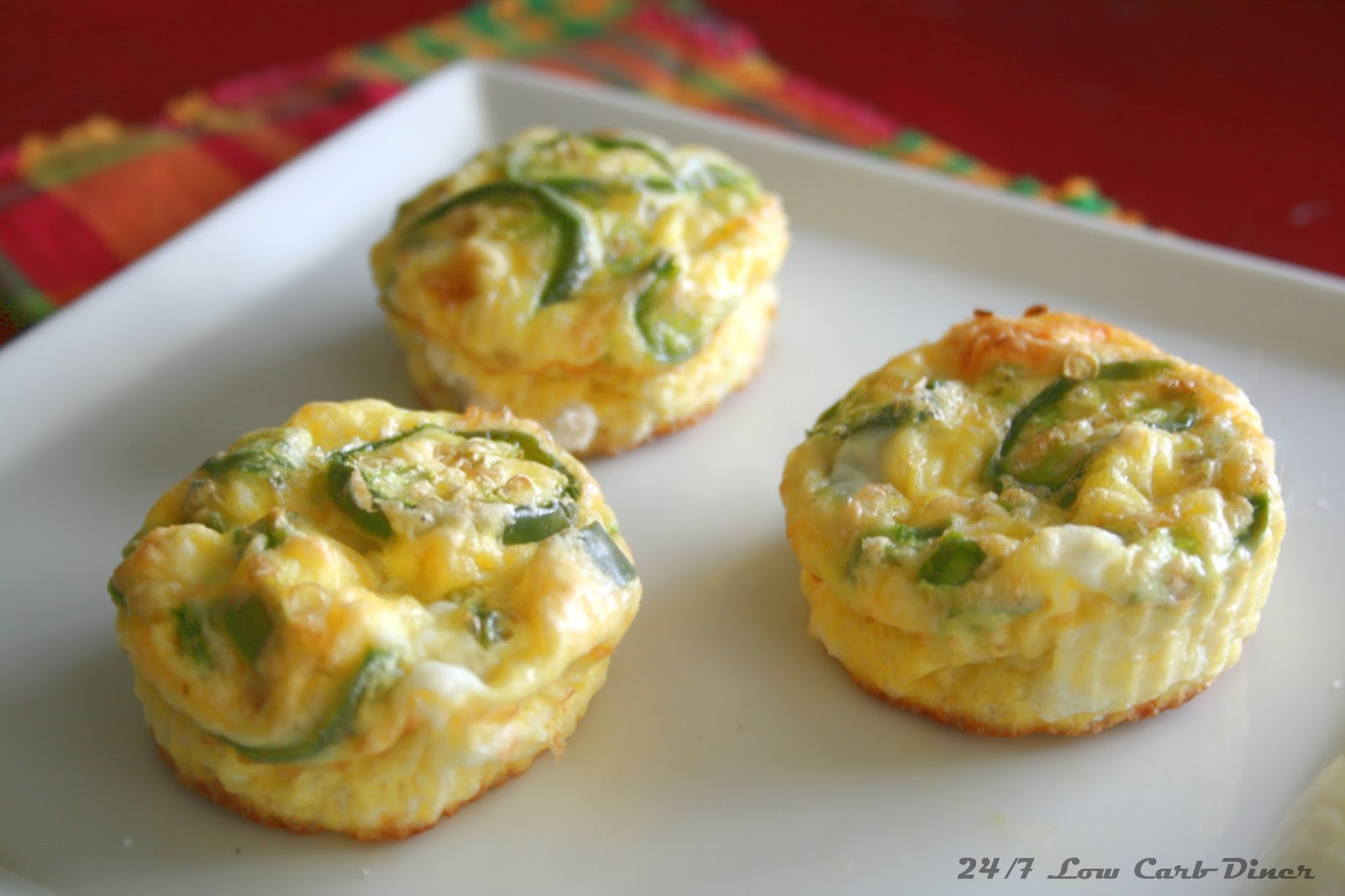 Jalapeno Popper Quiche Cups