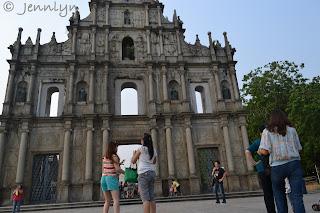 St. Paul's Ruins,Macau