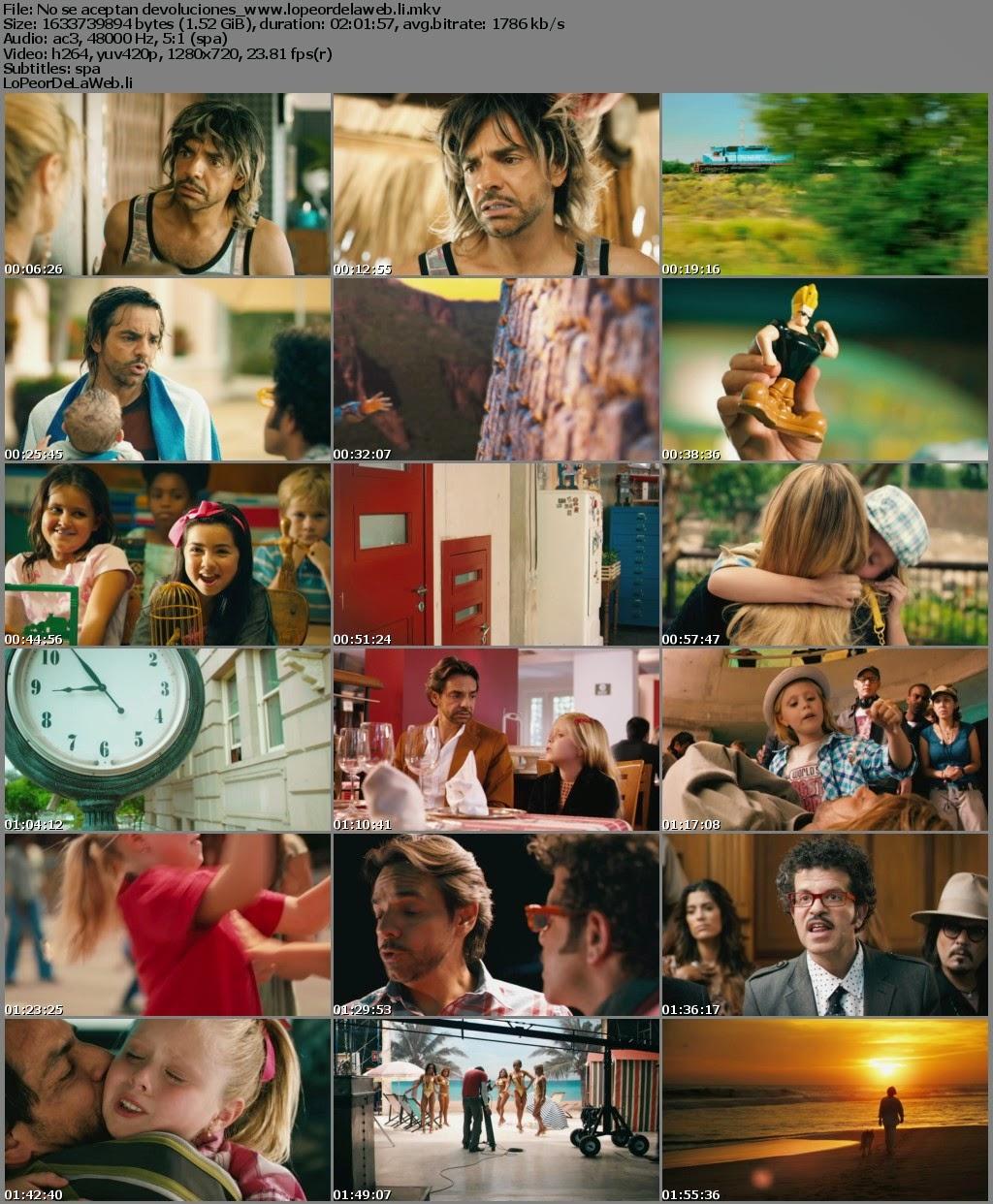 No se aceptan devoluciones (2013) BRrip 720p Latino