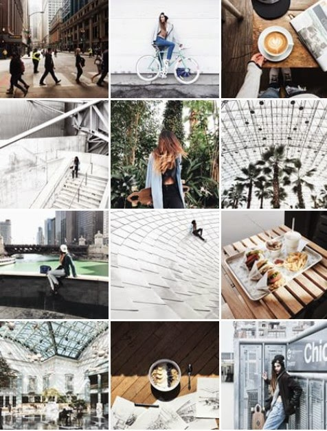 instagram feed, page, architecture