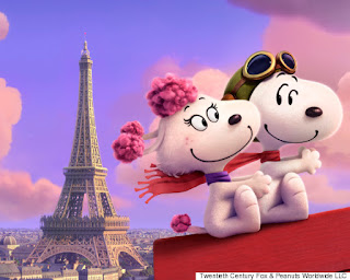 snoopy fifi peanuts movie movies animation dogs