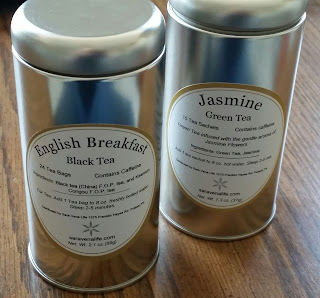 english breakfast tea and jasmine tea
