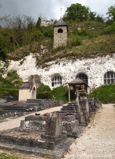 Haute Isleの不思議教会  Eglise Notre-Dame de l'Annonciation