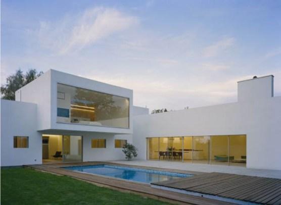 Modern minimalist villa by jonas lindvall a d for Architecture moderne villa
